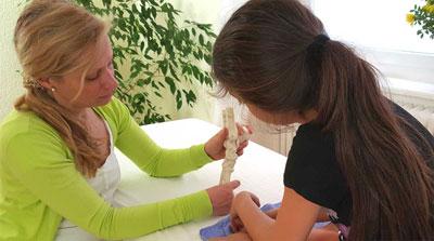 Kinderosteopathie München Schwabing Sabine Papperger